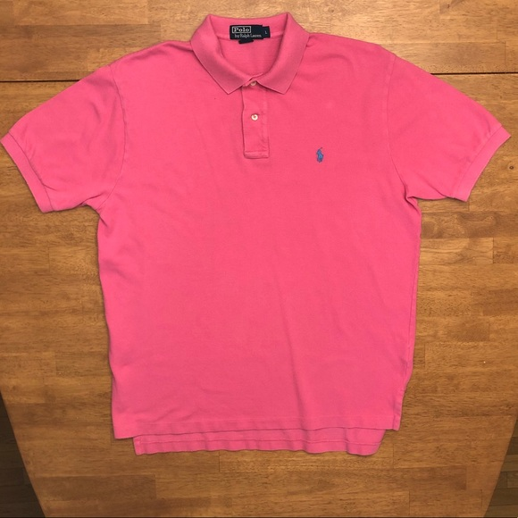 Polo by Ralph Lauren Shirts | Marco Pink Polo Mens Large | Poshmark